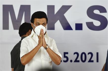 MK स्टालिन ने संभाली तमिलनाडु की सत्ता, CM पद की ली शपथ