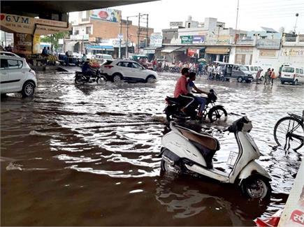 हरियाणा में बारिश ने मचाया उत्पात, आम जन जीवन का जीना हुआ मुहाल