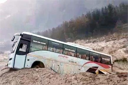 तस्वीरों में देखिए हिमाचल में बारिश का कहर