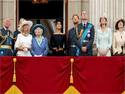 ब्रिटेन रॉयल एयरफोर्स के 100 साल पूरे, शाही परिवार ने देखे विमानों के...