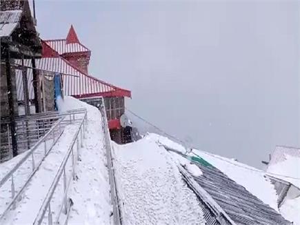 हिमाचल में बर्फबारी से जन्नत जैसा हुआ नजारा (PICS)
