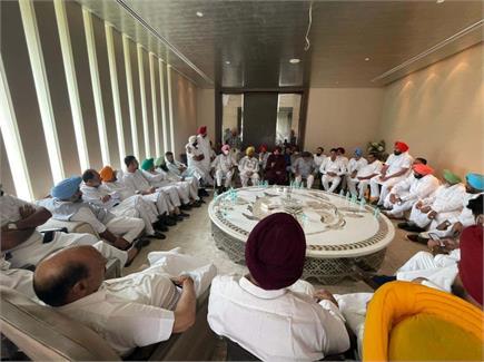 नवजोत सिद्धू के प्रदेश अध्यक्ष बनने के बाद पहली मीटिंग और श्री...