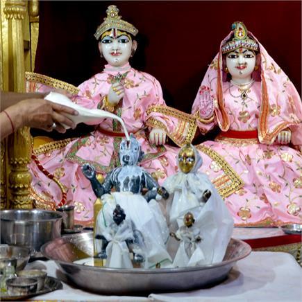 कोरोना काल में सादगी से मना रामनवमी  का पर्व