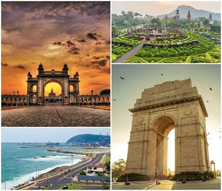 साफ-सफाई में नंबर 1 है Indore, जानिए भारत की टॉप 10 स्वच्छ टूरिस्ट...