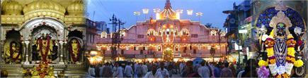 वैकुंठ चतुर्दशी पर उज्जैन के गोपाल मंदिर पर हुआ हरि का हर से मिलन