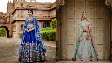 Trending: दुल्हन की पसंद बना Blue Lehengas, देखिए लेटेस्ट डिजाइन्स