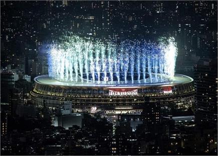 टोक्यो ओलंपिक के उद्घाटन समारोह की देखें तस्वीरें