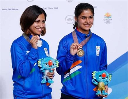 झज्जर की बेटी मनु ने CWG में भारत को दिलाया छठा स्वर्ण