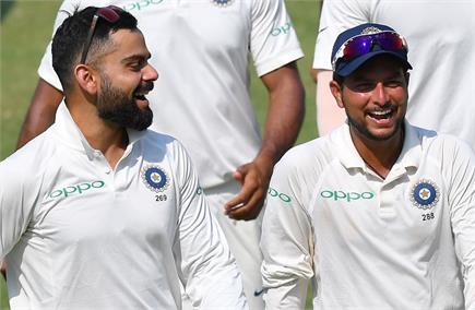 देखें भारत-विंडीज के बीच हुए पहले टेस्ट की कुछ खास तस्वीरें