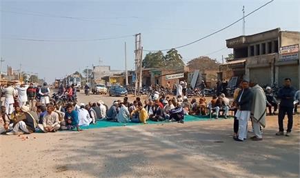 हरियाणा में चक्का जाम का पूरा हाल तस्वीरों में देखें