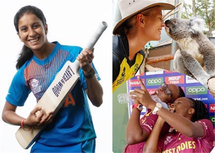ICC वुमंस क्रिकेट विश्व कप 2020 : देखें कुछेक रोचक फोटोज