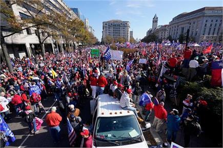 ट्रंप का क्रेज बरकरार, चुनाव नतीजों के खिलाफ सड़कों पर उतरे हजारों...