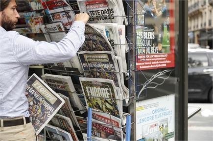 विश्व मीडिया ने फ्रांस की जीत को सराहा, बांधे तारीफों के पुल