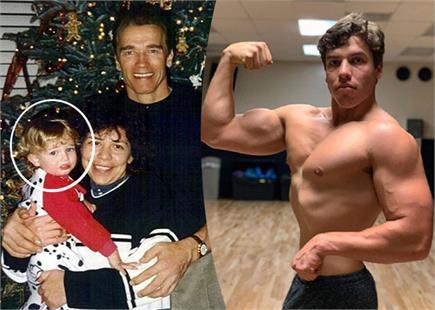 पिता के नक्शेकदम पर आर्नोल्ड का 22 साल का बेटा Joseph Baena, देखें...