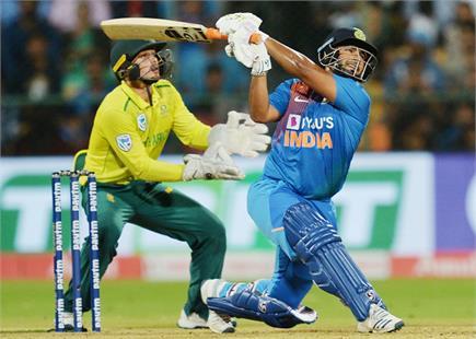 भारत बनाम दक्षिण अफ्रीका टी-20 मैच की देखें झलकियां