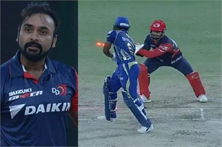 अमित मिश्रा ने IPL में पूरे किए 25 स्टंम्प विकेट