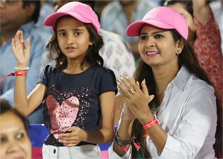 जयपुर के मैदान पर RR vs KKR मैच में दिखा दर्शकों का उत्साह
