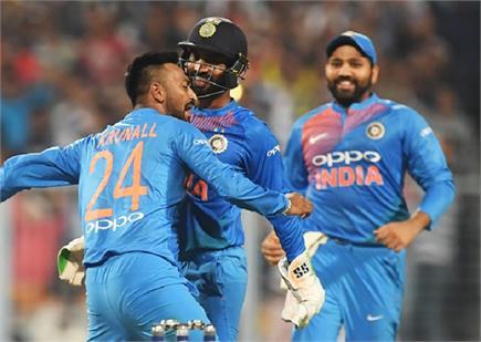 देखें भारत और वेस्टइंडीज के पहले टी-20 मैच की झलकियां