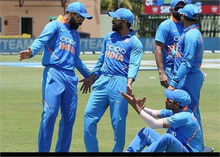 IND v WI मैच में खिलाडिय़ों ने की मस्ती, देखें फोटोज
