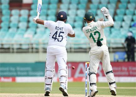 भारत vs दक्षिण अफ्रीका पहले टेस्ट की देखें झलकियां