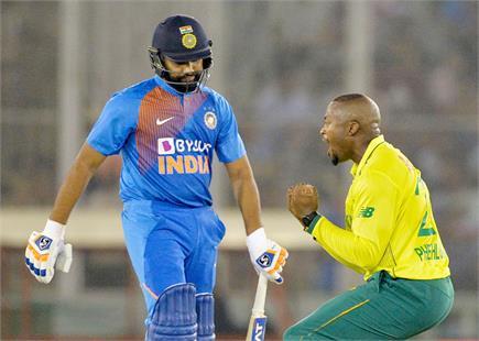 भारत बनाम दक्षिण अफ्रीका दूसरा टी-20, देखें फोटोज