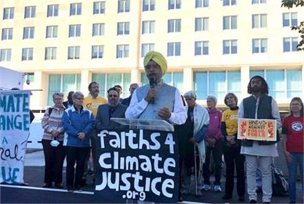 ecosikh chairman rajwant singh attends environment conference