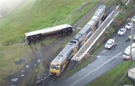 terrible train accident in sydney s wollongong area