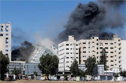 israel had informed america about the attack on gazas building