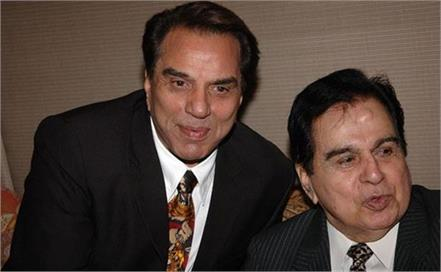 dharmendra shares 22 year old clip of dilip kumar speaking