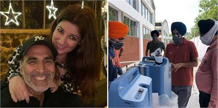 twinkle khanna helped corona patients