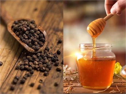 health tips black pepper honey diabetes heart illness relief