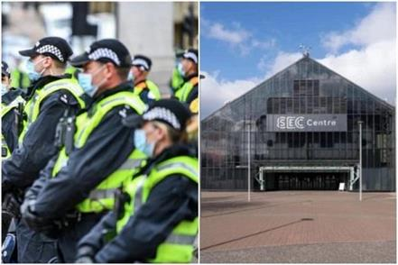 scotland  police frontline officers   double   for cop 26