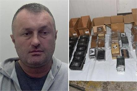 uk  truck driver jailed for 11 years for trying to smuggle cocaine