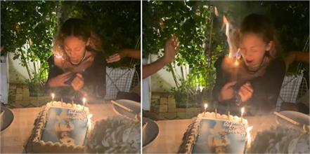 nicole richie shocking birthday video