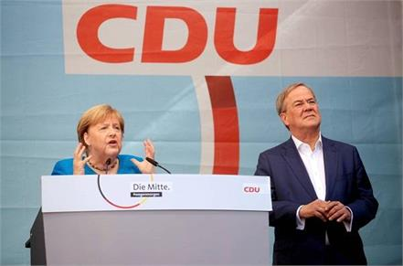 close between two major parties in election for post of chancellor of germany