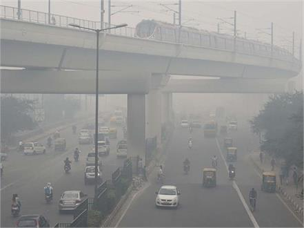 as the temperature drops the air is also poisonous panipat s aqi reached 419