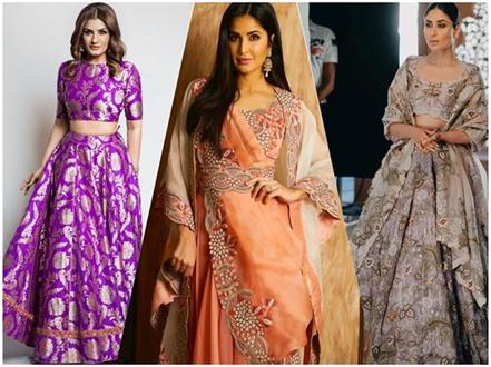 bollywood inspired winter wedding outfits