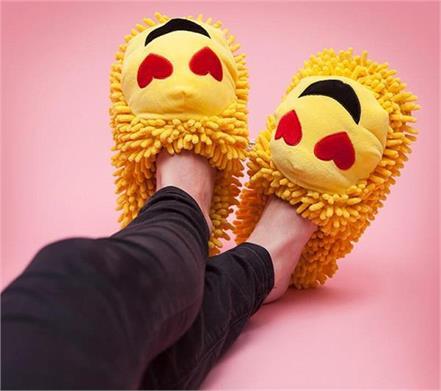 emoji footwear or slippers designs