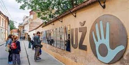 uzupis is self declared republic in europe