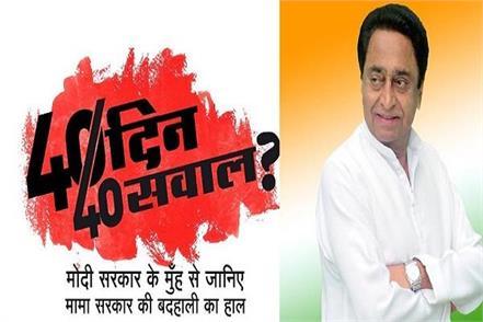 kamal nath from shivraj question 12
