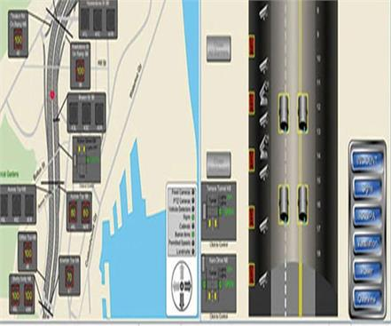 atms device to keep the speed of vehicles on the lucknow expressway