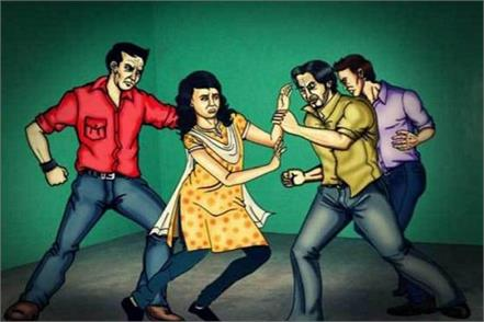 5 people committed gangrape by making a woman hostage in yamunanagar
