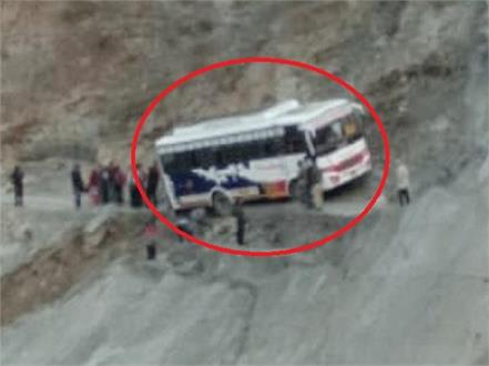 child survivors due to bus accident in chamba