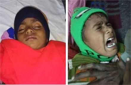 children sick due to eating poisonous plant