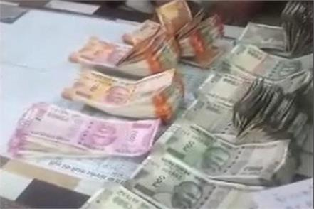 code of conduct violated police seized millions of rupees from car