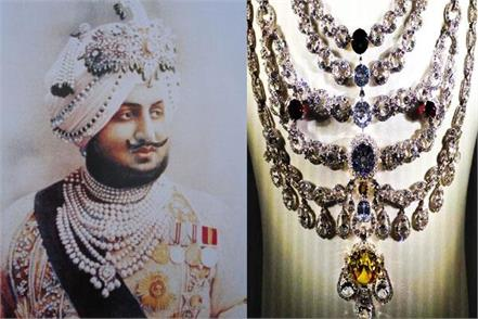 capt amarinder grandfather used to wear 166 million diamond necklace