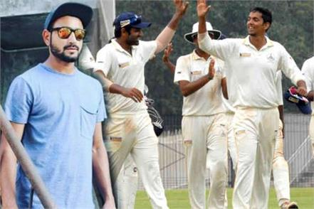 kohli friend deepak dhapola teke 21 wicket in 2 matches
