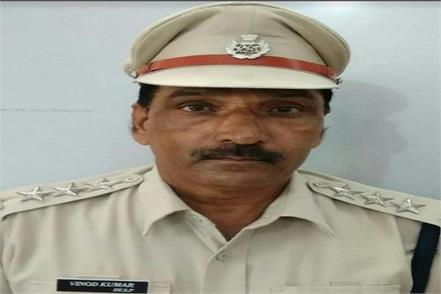 dsp of kanina vinod kumar dies of heart attack
