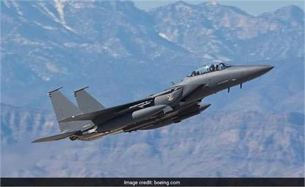 us fighter jet crashes off japan crew rescued
