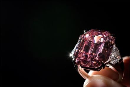pink diamond could smash record at geneva auction
